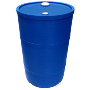 DPI™ - Diversified Plastics Inc. 30 Gallon Closed Head Polyethylene Drum CH-30-13 - Blue