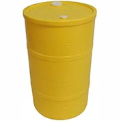 DPI™ - Diversified Plastics Inc. 30 Gallon Open Head Polyethylene Drum CH-30-14 - Yellow
