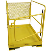 "DPI 36""L x 36""W Work Platform W/ Hinged Door, 1000 Lb. Cap. - MP-19HD"