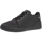 Mozo® 3835-BLK-08 - Men's Gallant Lace-Up Shoe, Synthetic, Black, Size 8