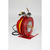 "Duro 2705 Electric & Air Reel, 18"" x 14"" x 14"", 50' Cord & 35' Hose, 300PSI, 15A"