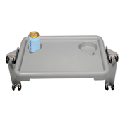 "Drive Medical Walker Tray with Two Cup Holders, 16""W x 12""D x 2""H"