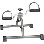 Drive Medical Exercise Peddler with Attractive Silver Vein Finish, Knocked Down