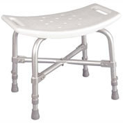 Bariatric Heavy Duty Bath Bench Without Back, Knock Down