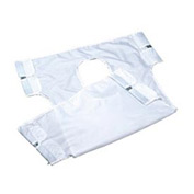 Patient Lift Sling with Commode Opening, Solid, Canvas