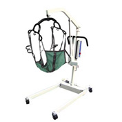 Drive Medical 13245 Bariatric Battery Powered Patient Lift with Rechargeable, Removable Battery
