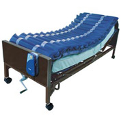 "5"" Med Aire Low Air Loss Mattress Overlay System with APP"
