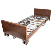 Ultra Light Plus Full-Electric Low Bed with Full Length Side Rails