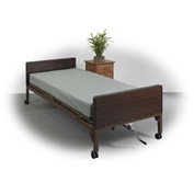 "Drive Medical Ortho-Coil Super-Firm Support Innerspring Mattress, 80""L x36""W x 6""H"