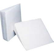 "Drive Medical Bed Wedges, 23""L x 23""W x 12""H, Cloth Cover, White"