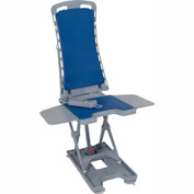 Drive Medical Whisper Automatic Bath Lift 477150312, 300 Lbs. Capacity, Blue