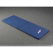 """Drive Medical Safetycare Floor Mats Bi-Fold with Masongard Cover, 66""""L x 36""""W x 2""""H, Blue"""