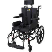 "Drive Medical Adult Kanga TS Pediatric Tilt In Space Wheelchair, 18"" Seat Width"