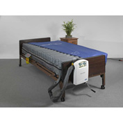 "Drive Medical Masonair 10"" Low Air Mattress and Alternating Pressure Mattress System, 80""L x 42""W"