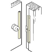 """Don Jo ILP 206-SL In Swinging Latch Protector, 6"""", Silver Coated - Pkg Qty 10"""