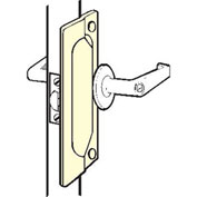 "Don Jo LP 207-SL Latch Protector For Outswing Doors, 2-3/4""x7"", Silver Coated - Pkg Qty 10"