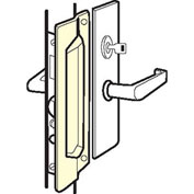 """Don Jo MLP 211 EBF-SL Latch Protector For Outswing Doors, Fasteners, 3""""x11"""", Silver Coated, Steel - Pkg Qty 10"""