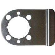 "Don Jo WSLP-204-DU Latch Protector, 5""x4"", Dura Coated - Pkg Qty 10"