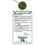 DOGIPOT® Informational Door Hanger, 50/Pack