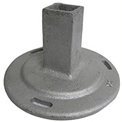 Cast Iron Pedestal Post Base