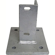 Flat Concrete Mounting Base