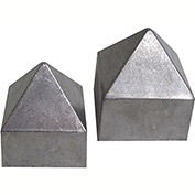 Large Pyramid Rain Cap, 2""