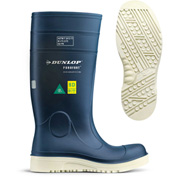 Dunlop® Purofort® Comfort Grip Full Safety Work Boots, Size 4, Blue