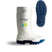 Dunlop® Purofort® Thermo+ Full Safety Men's Work Boots, Size 9, White