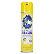 Pledge® Furniture Polish Lemon Scent, 12.5 Oz. Aerosol 12/Case - DRACB723725CT