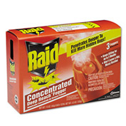 Raid® Concentrated Deep Reach Fogger, 3 Cans/Pack 4/Case - DRACB815901