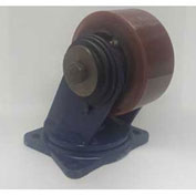 "Darnell-Rose Shear Disc Swivel Plate Caster SDC-0110-093PS8 - Polyurethane 10""Dia. 2400 Cap. Lb."