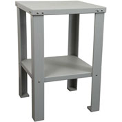 "Workstation Base Table, 24""W x 24""D x 36""H, Gray"