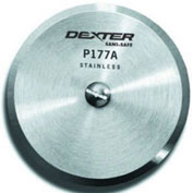 """Dexter Russell 18010- Pizza Blade Only, High Carbon Steel, Stamped, White Handle, 4""""L"""