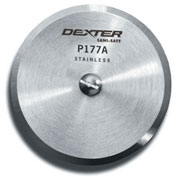 "Dexter Russell 18020 - Pizza Blade Only, High Carbon Steel, Stamped, 5""L"