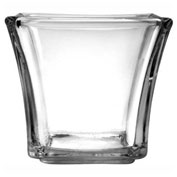 "Anchor Hocking 99006 - Flare Square Votive Glass, 5 Oz., 3"" x 2-1/4"", 6/Case"