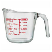 Anchor Hocking 55177OL13 - Measuring Cup, 16 Oz., 4/Case