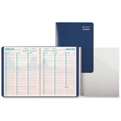 """Day-Timer® Coastlines Folio Appointment Planner 11-5/16"""" x 8-1/2"""" x 5/8"""" Blue"""