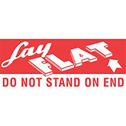 "Lay Flat 2"" x 5"" - White / Red"