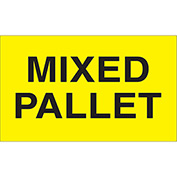 "Mixed Pallet 3"" x 5"" - Bright Yellow / Black"