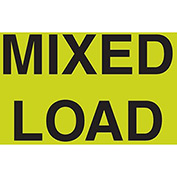 "Mixed Load 3"" x 5"" - Fluorescent Green / Black"