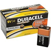 Duracell® Coppertop®  9V Batteries W/ Duralock Power Preserve™ - Pkg Qty 12
