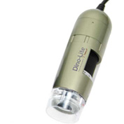 Dino-Lite AD4113T Handheld Digital Microscope with Detachable Nozzle, 1.3 MP, 10x - 50x, 220x