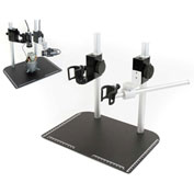Dino-Lite MS37B-27 Tabletop Stand with Dual Scope, Vertical & Horizontal Mount