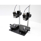 Dino-Lite MS45BX-D2 Dual Scope Table Top Comparison Stand with XY Base