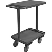 "Durham Mfg.® Open Access Cart EAS-1824-95 - 29-3/4""L x 18""W 1200 Lb. Capacity"