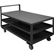 "Durham Mfg.® Low Deck Service Cart LDO-3060-3-95 - 60""L x 30""W  1200 Lb. Capacity"