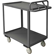 Durham Mfg.® Stock Cart RSCE-2436-2-3.6K-95 with Ergonomic Handle - 36 x 24 3600 Lb. Cap.