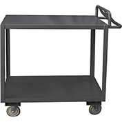 Durham Mfg.® Stock Cart RSCE-2436-2-3.6K-ALD-95 with Ergo Handle - All Lips Down 3600 Lb. Cap.