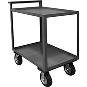 Durham Mfg.® Stock Cart RSCR-2436-95 with Raised Handle - 36 x 24 All Lips Up 1200 Lb. Cap.