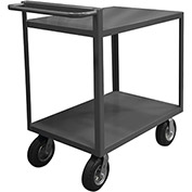 Durham Mfg.® Stock Cart RSCR-2436-ALD-95 with Raised Handle - All Lips Down 1200 Lb. Cap.